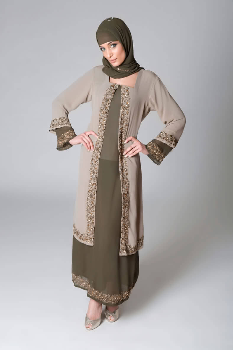 Abaya Trends 2011,Latest Abaya Collection (3) (1)