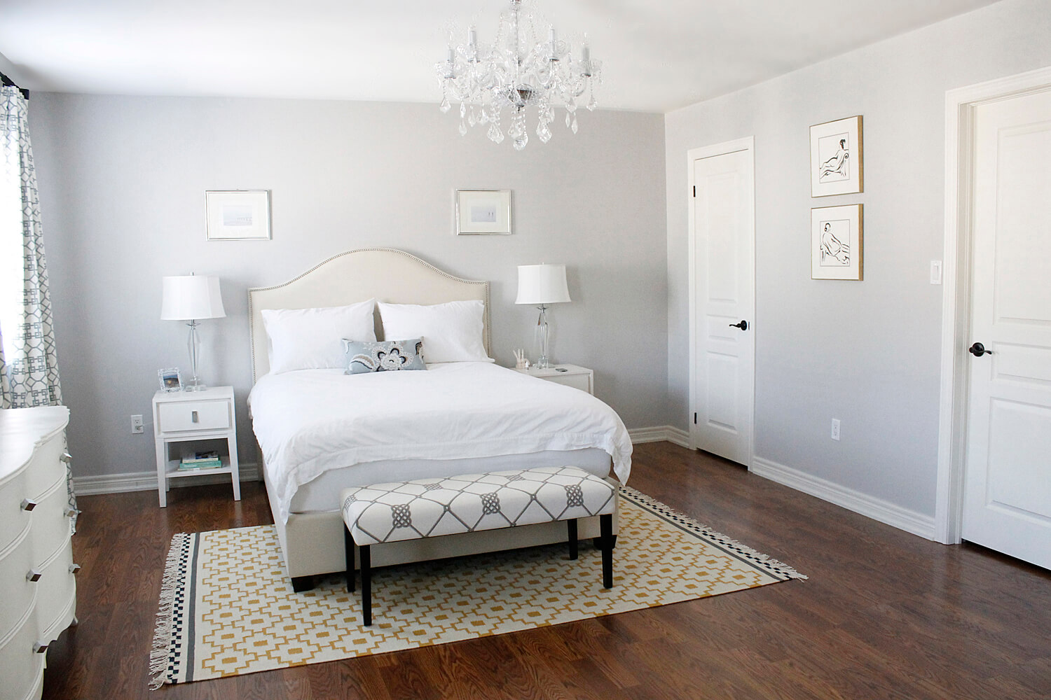 bedroom-engaging-image-of-natural-bedroom-decoration-using-light-gray-bedroom-wall-prints-including-curved-studded-white-velvet-headboard-and-white-glass-crystal-bedroom-chandeliers-exquisite-picture (1)